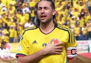 Yepes colpito al petto dal cartello rivale