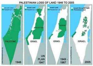 """La """"crescita"""" di Israele negli anni"""