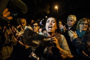 Manifestazione dei residenti di Tor Sapienza contro il centro di accoglienza