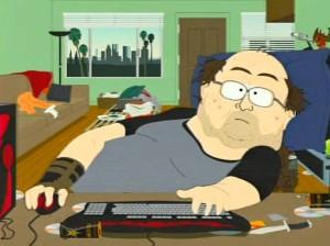 """Il tipico """"gamer"""", malato di videogiochi online, secondo South Park"""