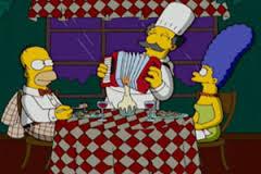 Luigi, cuoco italiano dei Simpson