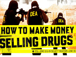 The cover of the docu-film How to make money selling drugs