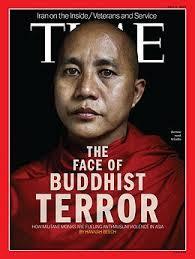 Ashin Wirathu sulla copertina del Time Magazine