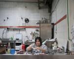 Sara, la responsabile della cucina - Foto di Giuliano Ottaviani