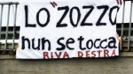 "Demonstration for Giorgio lo zozzo when his van was shut down by the police in 2011 for ""administrative deficiencies"": ""The banner is a clear sign of solidarity for who gladdens the return at home of young romans after their nightlife. You can't close an institution like Giorgione in Corso Francia, for 15 years with its sandwiches has grown at least three generations of people, many of whom are joining several solidarity groups on Facebook. Giorgione has expressed willingness to be regularized"""
