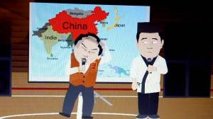 South Park, a lesson to explain differences between China and Japan