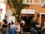 the first zozzone in via della Pace