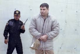 El Chapo quando era guardato a vista in carcere