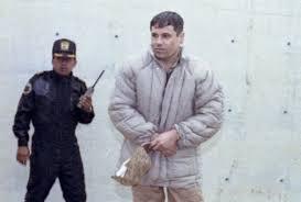 El Chapo quando era guardato a vista in carcere