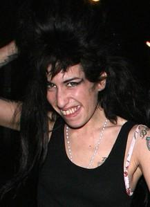 Amy Winehouse alla fine della sua carriera