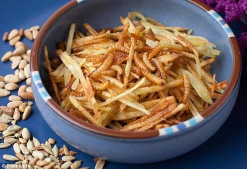 Al Don Bugito's di San Francisco... patatine e vermi fritti