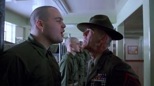 Il sergente Hartman contro Palla di Lardo