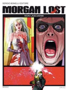 """Morgan Lost, la copertina del """"secondo tempo"""" della prima storia"""