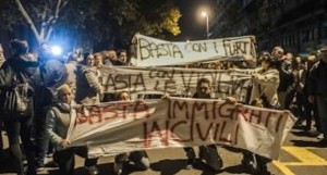 Le proteste di Tor Sapienza