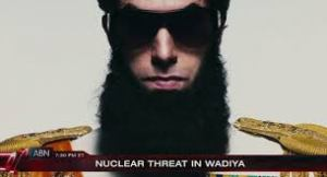 Aladeen, Sacha Baron Cohen's dictator
