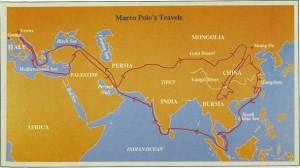 I viaggi di Marco Polo, senza aereo
