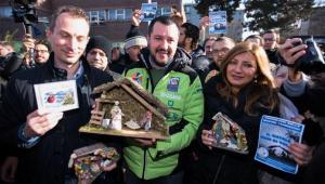 Matteo Salvini a Rozzano con il presepe (di Ignazio La Russa)