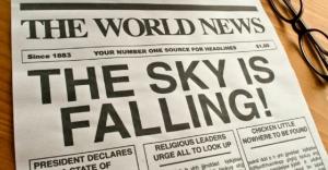 Il cielo sta cadendo! - La paura nei media