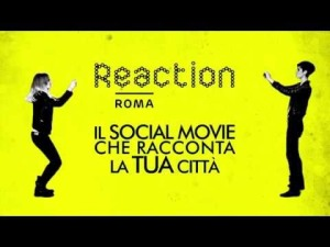 Reaction Roma su volantino giallo