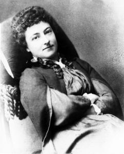 Olive Schreiner 1855-1920 scrittrice sudafricana, pacifista. Autrice del libro Dreams citato nel film Suffragette