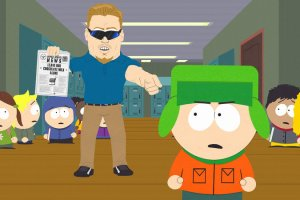 Pc Principal di South Park e il suo dito accusatore