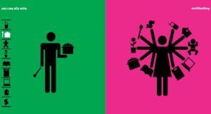 Una visione dello stereotipo: l'uomo monotasking VS la nuova dea Kali del multitasking
