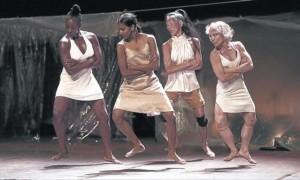 WeWomen - da sinistra a destra Julie, Shantala, Minako e Sol