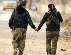 YPJ fighters in Kobane | HAWAR News 1