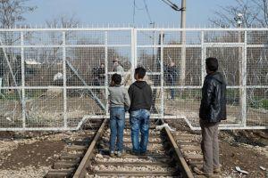 Il blocco della frontiera greco-macedone a Idomeni