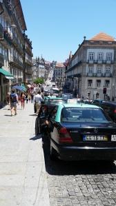 Porto-San Francisco e i suoi taxi neri e verdi