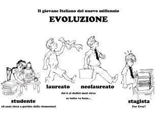 Evolution from the student to the intern