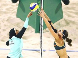 Egitto-Germania di beach volley