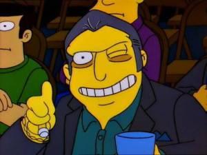 Tony Ciccione dei Simpson