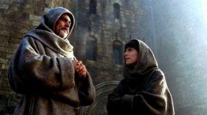 Guglielmo da Baskerville e Adso, protagonisti de Il nome della rosa (il film)