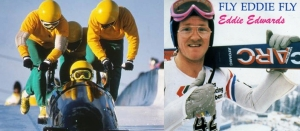 "La Giamaica di bob ed Eddie ""the Eagle"" Edwards"