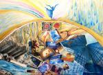 """""""L'equilibrio sopra la follia"""" di Juanita Capogna, artista di Bari"""