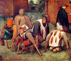 Gli Storpi, di Pieter Van Bruegel