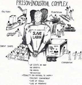 """Se lavoro e attività non vengono gestite in modo virtuoso... il rischio della """"prigione-industria"""", lavori forzati a 0 costi."""