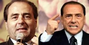 Antonio Di Pietro e Silvio Berlusconi, nemici in un duello ormai da nostalgici