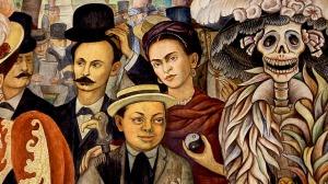 Santa Muerte Diego Rivera Sueno di una tarde dominical