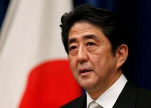 Shinzo Abe Giappone