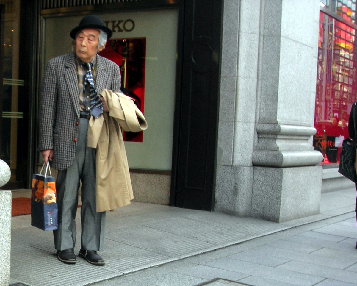 Japan, no Country for old men
