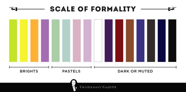 formalità colori