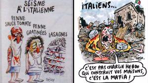 Charlie Hebdo terremoto censura