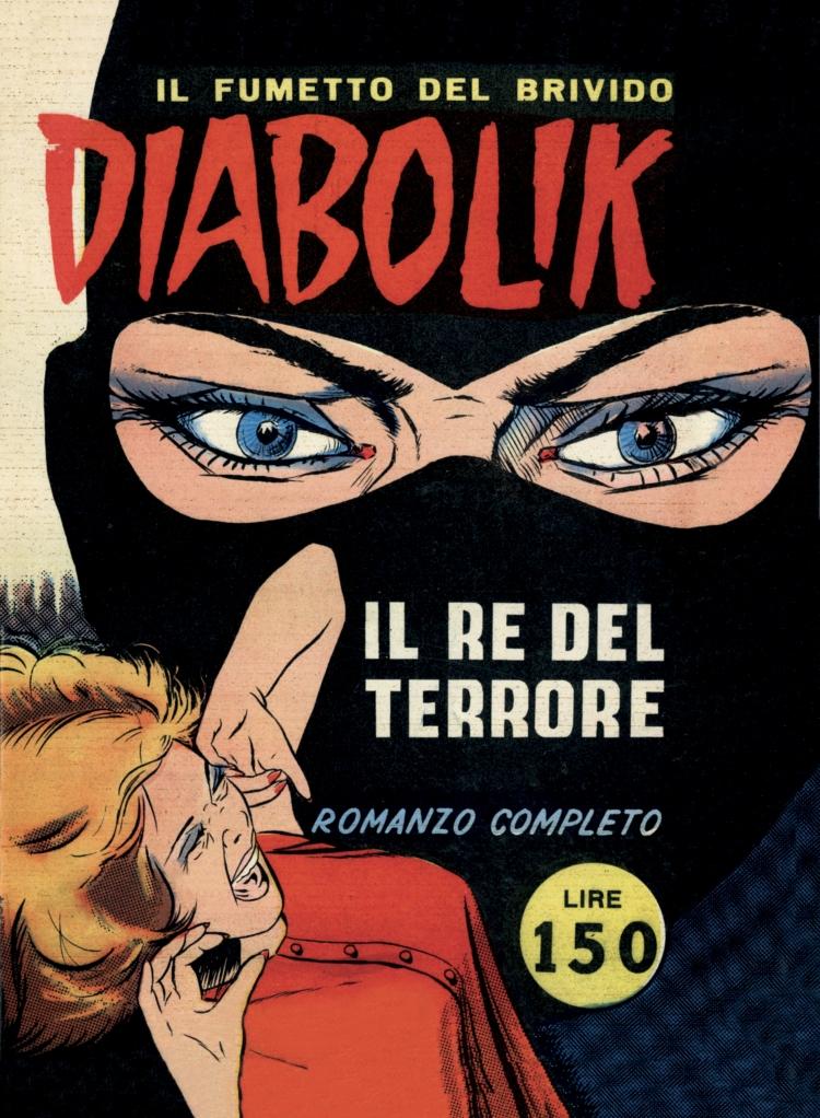 prima copertina Diabolik