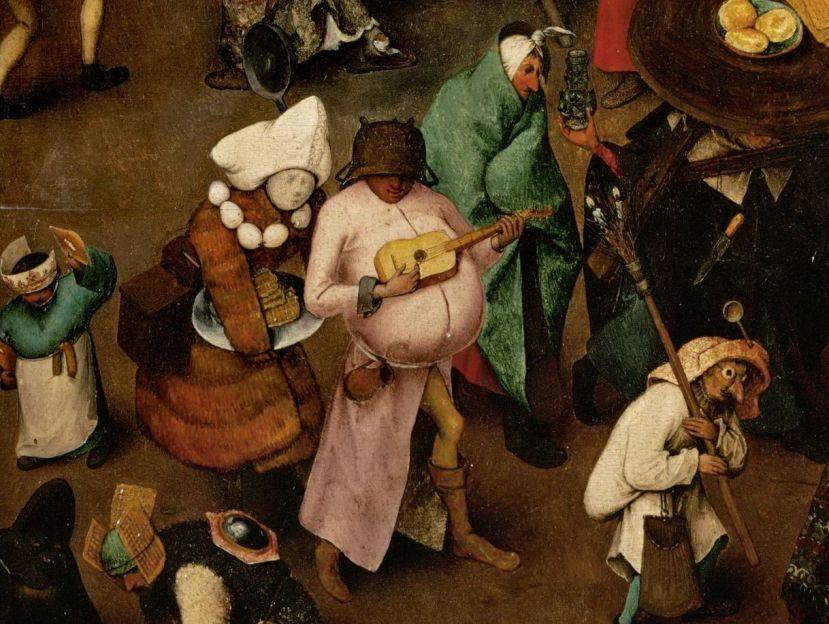 il carnevale secondo bruegel