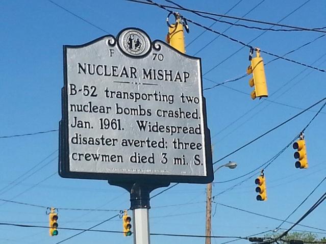 cartello goldsboro nucleare
