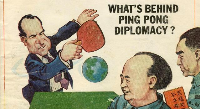 kissinger diplomazia sport