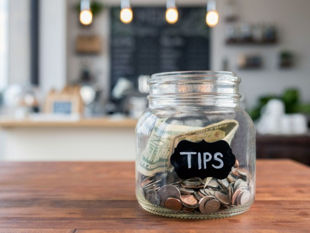 tips jar