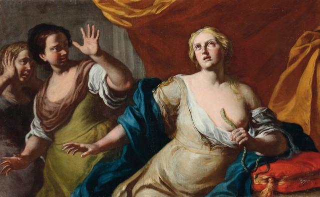 suicidio cleopatra